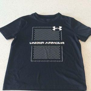 Boys Under Armour drifit shirt
